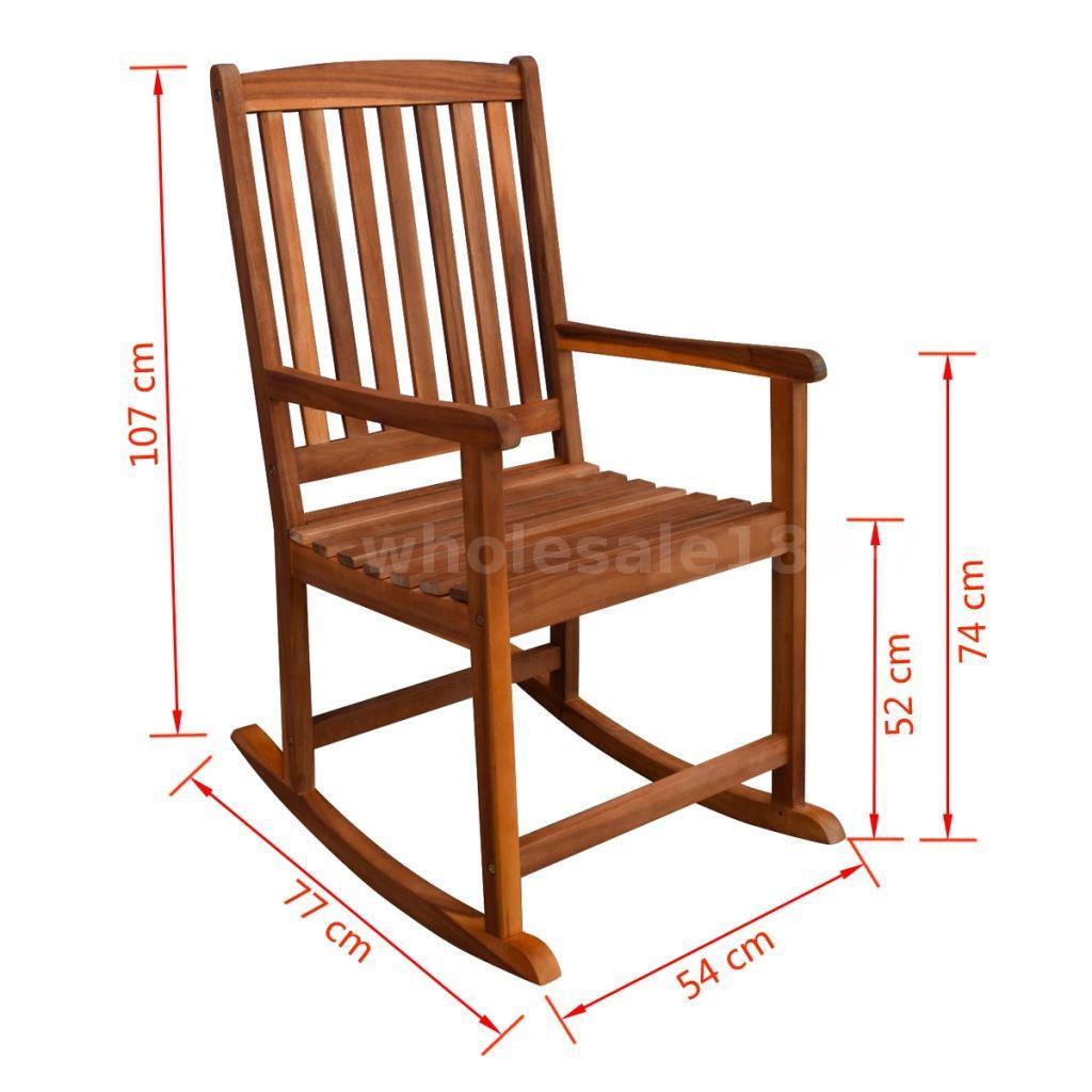 Altalena Giardino Ikea dettagli su vidaxl sedia a dondolo da giardino in legno di acacia q1y5